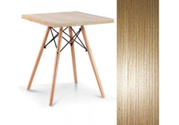 Стол обеденный Эльба D  80*80*h72 см цвет натуральный дуб - Фото №1