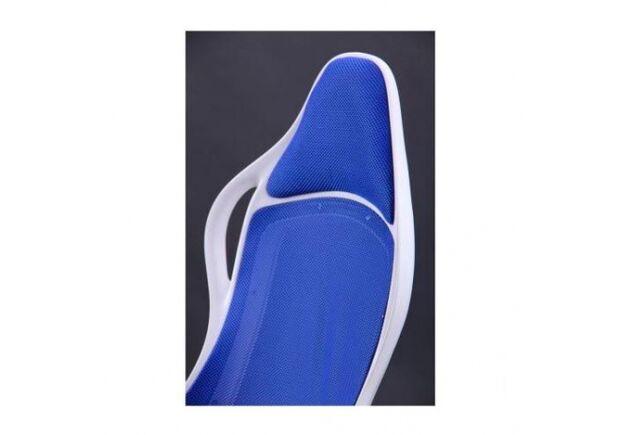 Кресло Nitro каркас белый кожзам сиденье Неаполь спинка Сетка - Фото №2