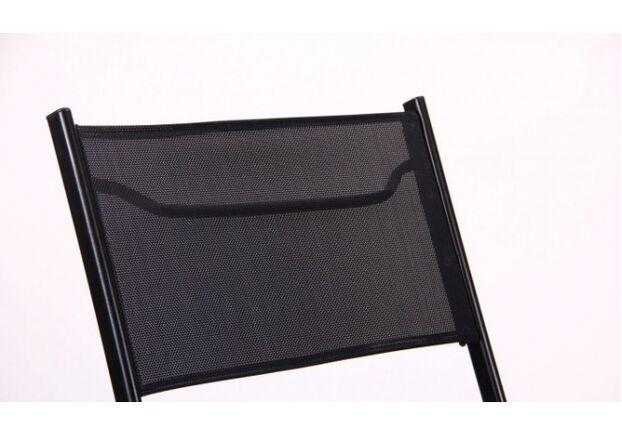 Стул Linda черный оббивка ткань черный - Фото №2