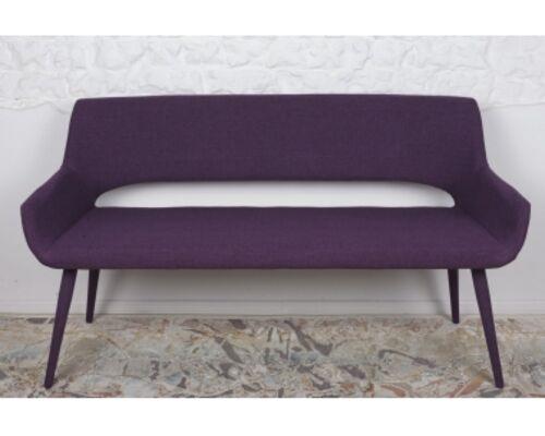 Кресло - банкетка BARCELONA (1310*610*810 текстиль) баклажан  - Фото №1