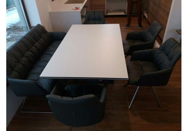 Кресло - банкетка LEON (1550*890*550) темно-серый - Фото №2