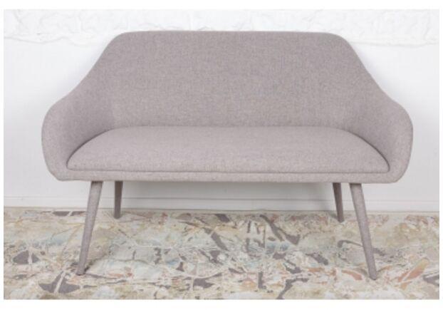 Кресло - банкетка MAIORICA (1310*610*810 текстиль) светло-серый  - Фото №1