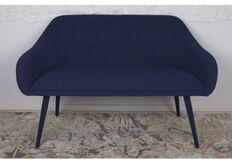 Фото Кресло - банкетка MAIORICA (1310*610*810 текстиль) темно-синий