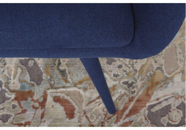 Кресло - банкетка MAIORICA (1310*610*810 текстиль) темно-синий - Фото №2