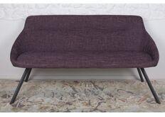 Фото Кресло - банкетка TOLEDO (1550*640*830 текстиль) рогожка баклажан
