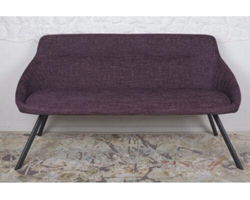 Кресло - банкетка TOLEDO (1550*640*830 текстиль) рогожка баклажан - Фото №1