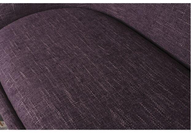 Кресло - банкетка TOLEDO (1550*640*830 текстиль) рогожка баклажан - Фото №2