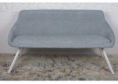 Фото Кресло - банкетка TOLEDO (1550*640*830 текстиль) рогожка бледно-бирюзовый