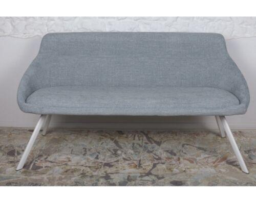 Кресло - банкетка TOLEDO (1550*640*830 текстиль) рогожка бледно-бирюзовый - Фото №1