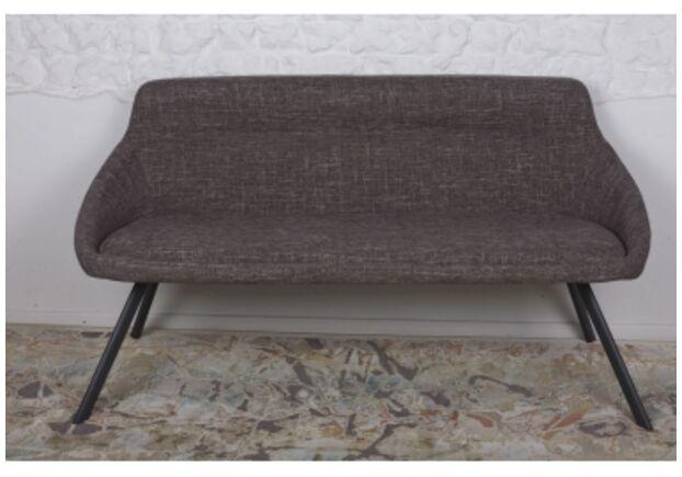Кресло - банкетка TOLEDO (1550*640*830 текстиль) рогожка кофе-моко - Фото №1