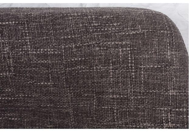 Кресло - банкетка TOLEDO (1550*640*830 текстиль) рогожка кофе-моко - Фото №2