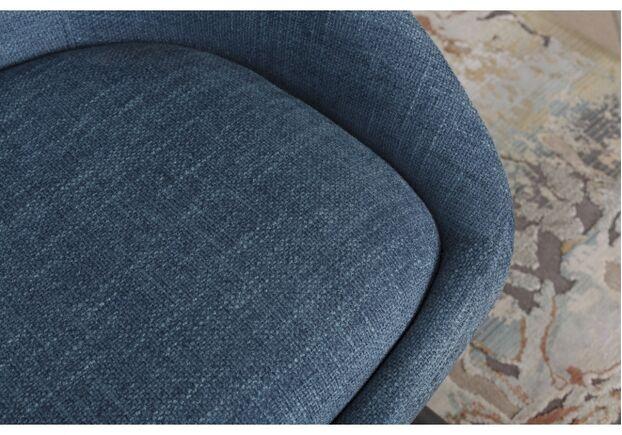 Кресло - банкетка TOLEDO (1550*640*830 текстиль) рогожка темно-голубой - Фото №2