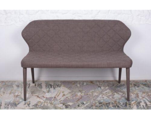 Кресло - банкетка VALENCIA (130*59*85 cm - текстиль) кофейная - Фото №1