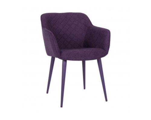 Кресло BAVARIA (58*65*80 cm текстиль) баклажан - Фото №1