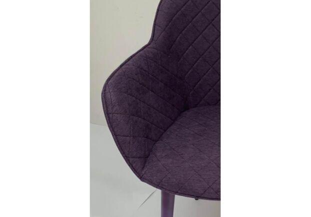 Кресло BAVARIA (58*65*80 cm текстиль) баклажан - Фото №2