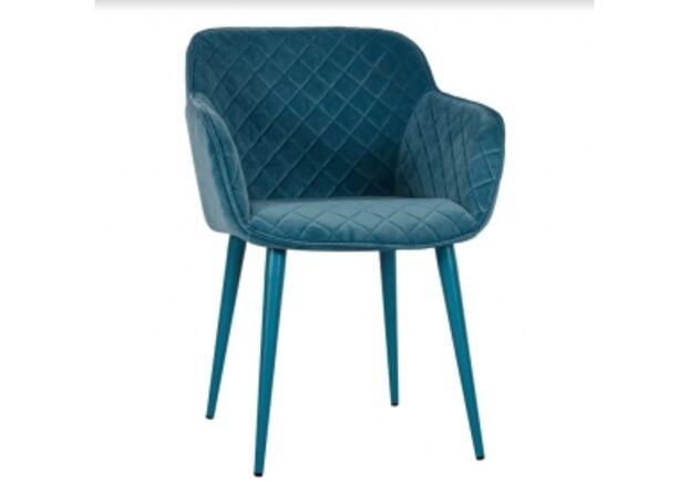 Кресло BAVARIA (58*65*80 cm текстиль) бирюза - Фото №1
