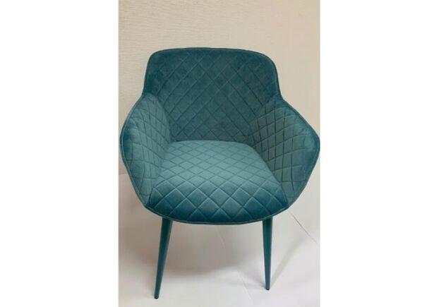 Кресло BAVARIA (58*65*80 cm текстиль) бирюза - Фото №2