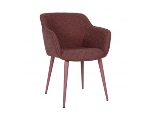 Кресло BAVARIA (58*65*80 cm текстиль) какао - Фото №1