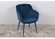 Фото Кресло BAVARIA (58*65*80 cm текстиль) синий