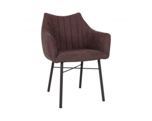Кресло BONN (64*60*87 cm текстиль) коричневый - Фото №1