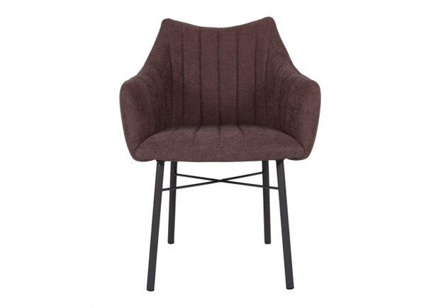 Кресло BONN (64*60*87 cm текстиль) коричневый - Фото №2