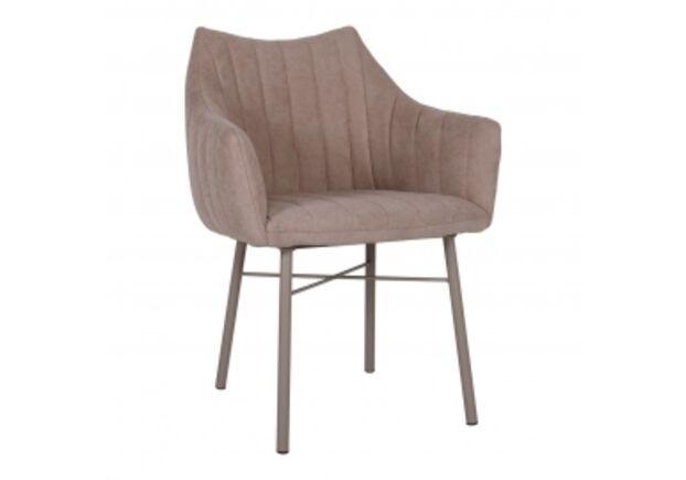 Кресло BONN (64*60*87 cm текстиль) кофейный - Фото №1
