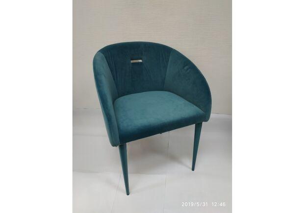 Кресло ELBE (58*59*75 cm текстиль) бирюза - Фото №2