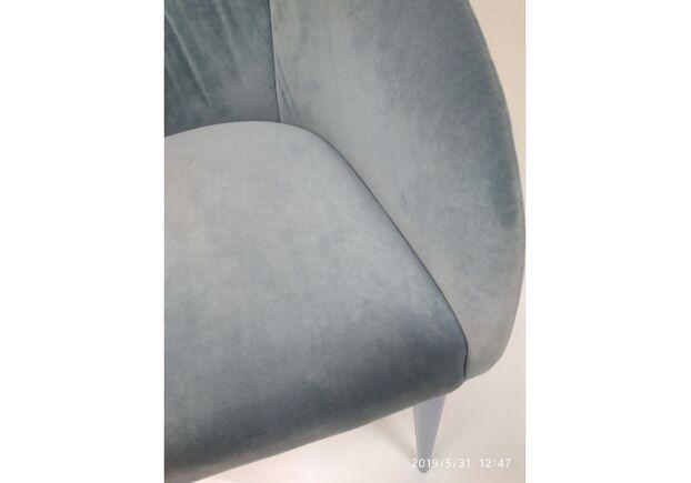 Кресло ELBE (58*59*75 cm текстиль) голубой - Фото №2