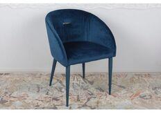 Фото Кресло ELBE (58*59*75 cm текстиль) синий