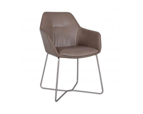 Кресло LAREDO (610*620*880) молочный шоколад - Фото №1