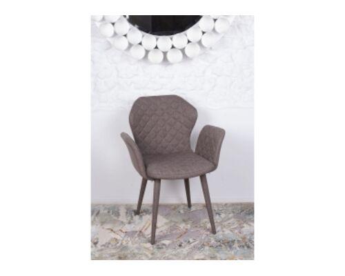 Кресло VALENCIA (60*68*88 cm - текстиль) кофейный - Фото №1