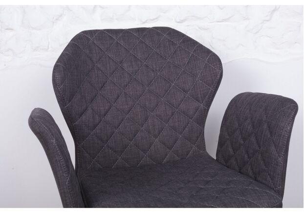 Кресло VALENCIA (60*68*88 cm - текстиль) темно-серый - Фото №2