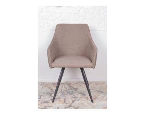 Кресло МAYA (56*60*86 cm - текстиль/экокожа) мокко - Фото №1