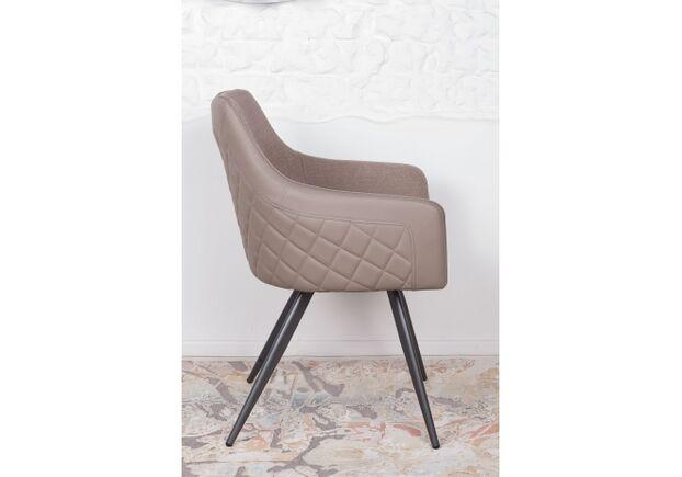 Кресло МAYA (56*60*86 cm - текстиль/экокожа) мокко - Фото №2