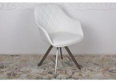 Фото Кресло поворотное ALMERIA (610*605*880) белый