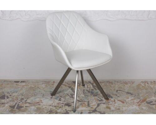 Кресло поворотное ALMERIA (610*605*880) белый - Фото №1