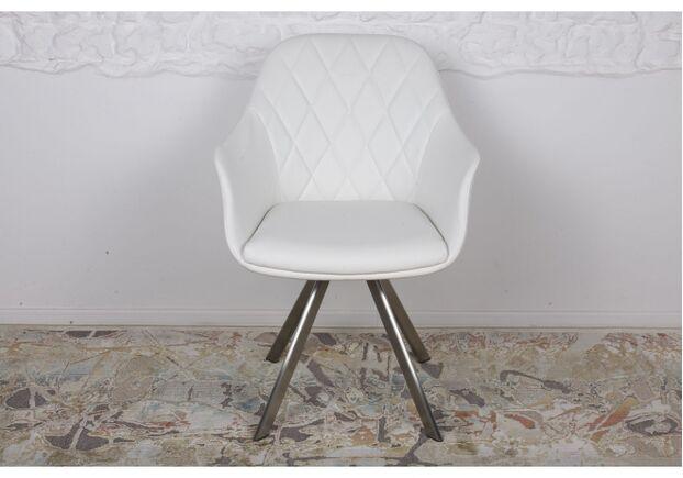 Кресло поворотное ALMERIA (610*605*880) белый - Фото №2