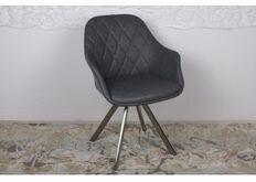 Фото Кресло поворотное ALMERIA (610*605*880) серый