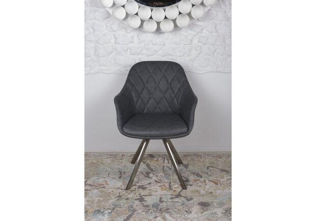 Кресло поворотное ALMERIA (610*605*880) серый - Фото №2