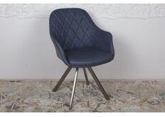 Фото Кресло поворотное ALMERIA (610*605*880) синий