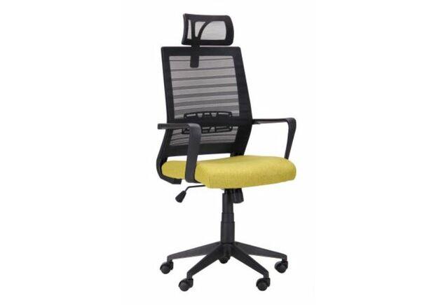 Кресло Radon черный/оливковый - Фото №1
