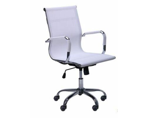 Кресло Slim Net LB (XH-633B) белый - Фото №1