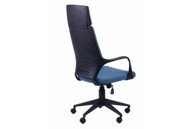 Кресло Urban HB черный, тк. синий - Фото №2