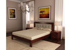 Кровать из натурального дерева Неаполь 1400х2000 мм