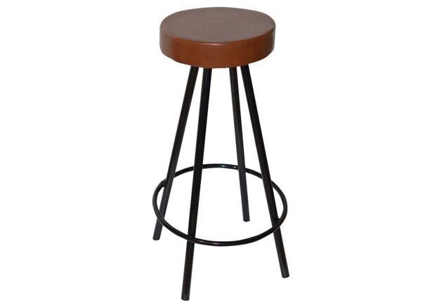 Барный стул Диана коричневый - Фото №1
