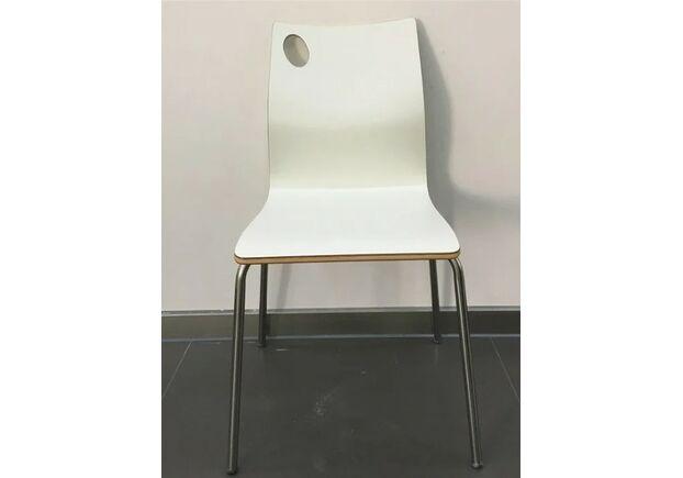 Штабелируемый стул Хорека-W гнутая фанера белый - Фото №2