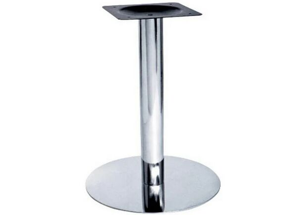 Опора для стола Тахо inox нержавейка  (72х40 см) - Фото №1
