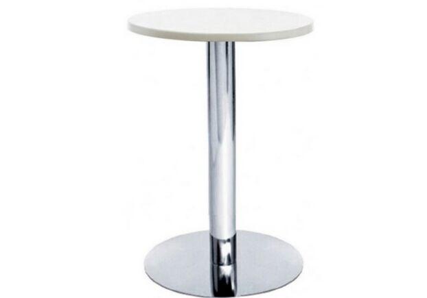 Столешница для стола Кипр круглая 60 см белый - Фото №1