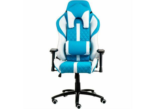 Кресло ExtremeRace light blue/white - Фото №2