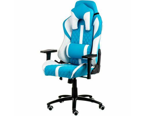 Кресло ExtremeRace light blue/white - Фото №1